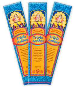 The Rare Essence Incense Collection - Triple Amber Incense