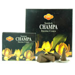 Sandesh (SAC) Cone Incense - Champa