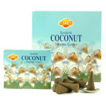 Sandesh (SAC) Cone Incense - Coconut