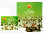 Sandesh (SAC) Cone Incense - Jasmine