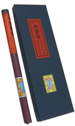 Sitting Zen Incense - Classic, 5 Bundle Box - [Paper Rolls]