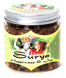 Prabhuji's Gifts Exotic Indian Resins - Surya (Happiness & Joy) - 2.4 oz.