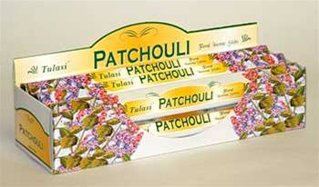 Tulasi Incense - Patchouli 20gr tube