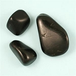 Jet (Tibetan) - Tumbled & Polished Stones <br><br>
