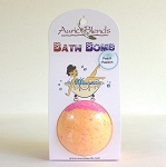 Auric Blends Bath Bomb (Peach Passion)