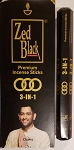 Zed Black 3-in-1 Incense Sticks - [15 Stick]