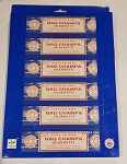 Satya Incense - 6-in-1 Best Selling Nag Champa Series Gift Pack - 15gr (6 Packs/Box)