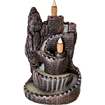 Backflow Incense Burner - Castle