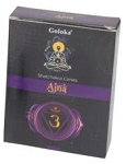 Goloka Chakra Cones - Dark Blue - Ajna (Insight)