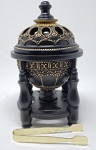 Resin Incense & Charcoal Burner - Prestigious Pillar