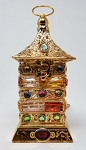 Resin Incense Burner - (Bakhoor) - LED Ornate Box (Electric)