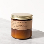P.F Candle Co. - 12.5 oz Soy Candle - Teakwood Tobacco