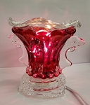 Electric Glass Aroma Lamp - Pillar - (5
