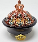 Resin Incense & Charcoal Burner - Regal Crown