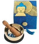Singing Bowl - Buddha Meditation Box