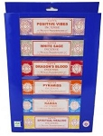 Satya Incense - 6-in-1 Best Sellers Series Gift Pack - 15gr (6 Packs/Box)