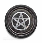 Pentacle Wooden Alter Tile