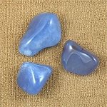 Blue Chalcedony - Tumbled & Polished Stones <br><br>