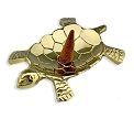 Metal Burner - Turtle - Brass