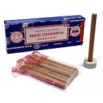 Satya Incense - Satya Sai Baba Nag Champa Dhoop - 10 Sticks