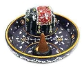 Lacquer Elephant Cone & Sticks Burner- 3.5