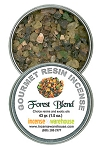 Gourmet Resin Incense - Forest Blend 1.5 oz. Tin