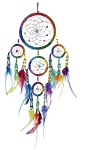 Dream Catcher - Large Rainbow Beaded