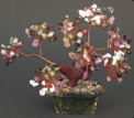 Mixed Gemstone Bonsai Tree of Life (Shito 5