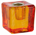 Mini Ritual Candle Holder - Orange