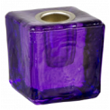 Mini Ritual Candle Holder - Purple