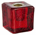Mini Ritual Candle Holder - Red
