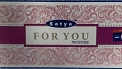 Satya Incense - For You - 15gr