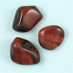 Tiger Eye (Red) - Tumbled & Polished Gemstones<br><br>