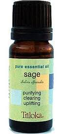Triloka Pure Essential Oil - Sage