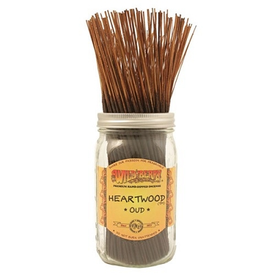 Heartwood (Oud) Incense Sticks by Wild Berry Incense