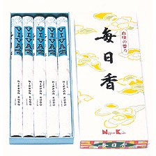 Mainichi-Koh Viva Sandalwood Long - Box of Stick 5 Rolls