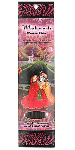 Prabhuji's Gifts Incense - Mukunda - Patchouli & Spices Incense