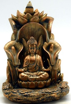 Buddha Back Flow Incense Burner