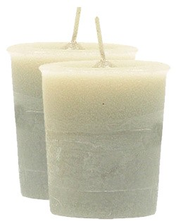 Power Crystal Journey Herbal Magic Votive Candles [ 2 ]