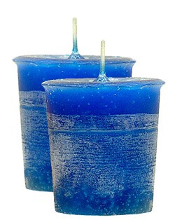 Good Health Crystal Journey Herbal Magic Votive Candles [ 2 ]