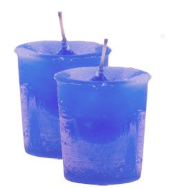 Creativity Crystal Journey Herbal Magic Votive Candles [ 2 ]