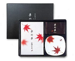 Yume-No-Yume Maple Leaf Japanese Incense Gift Set