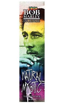 Bob Marley Incense - Natural Mystic Variety Pack - 24 Sticks