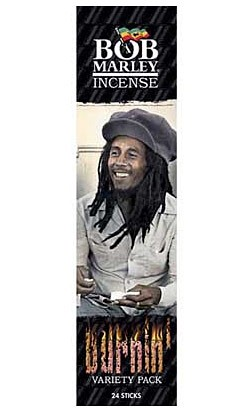Bob Marley Incense - Burnin' Variety Pack - 24 Sticks