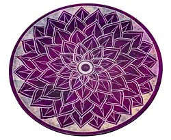 Stone Burner - Lotus Flower - Purple