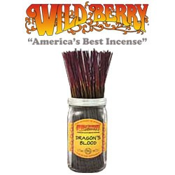 Dragon's Blood Incense Sticks by Wild Berry Incense