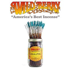 Eucalyptus Incense Sticks by Wild Berry Incense