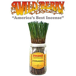 Evergreen Incense Sticks by Wild Berry Incense