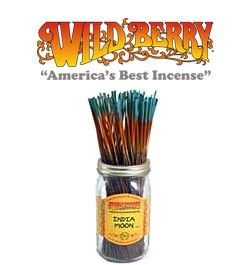 India Moon Incense Sticks by Wild Berry Incense