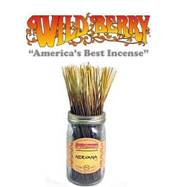 Nirvana Incense Sticks by Wild Berry Incense